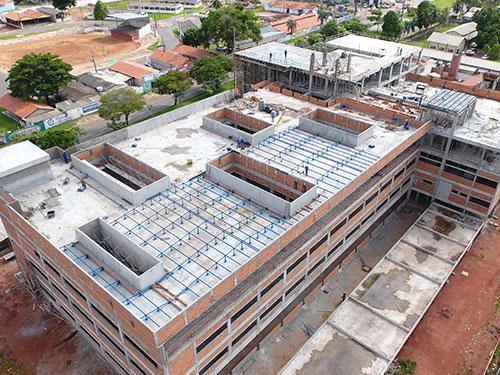 Concreto Construção do Fórum de Araguaína Concrenorte Pré-Moldados