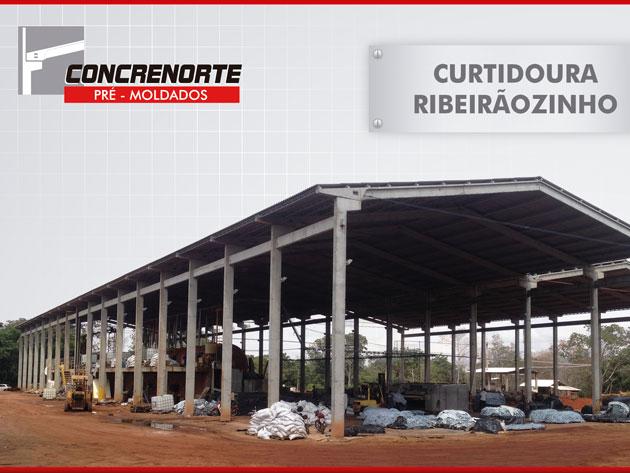 Curtidoura Ribeirãozinho Concrenorte Pré-Moldados