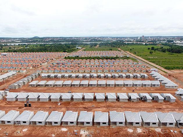 Concreto das Casas do Parque do Lago Concrenorte Pré-Moldados