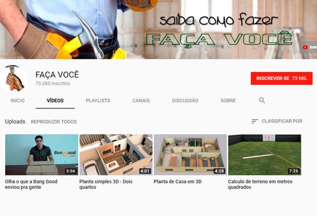 1ca1a0ed149 Seria apenas mais um canal dos muitos com dicas de construção e com dicas  de reformas presentes no Youtube se não fosse por um pequeno grande  detalhe  ...
