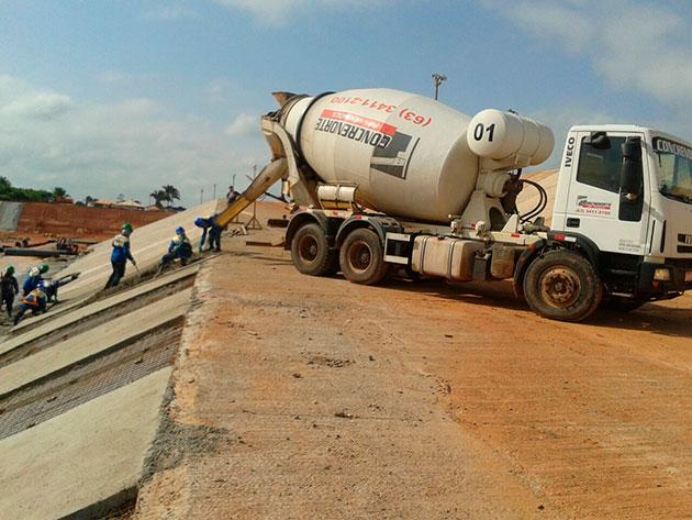 Cuidados com concreto usinado
