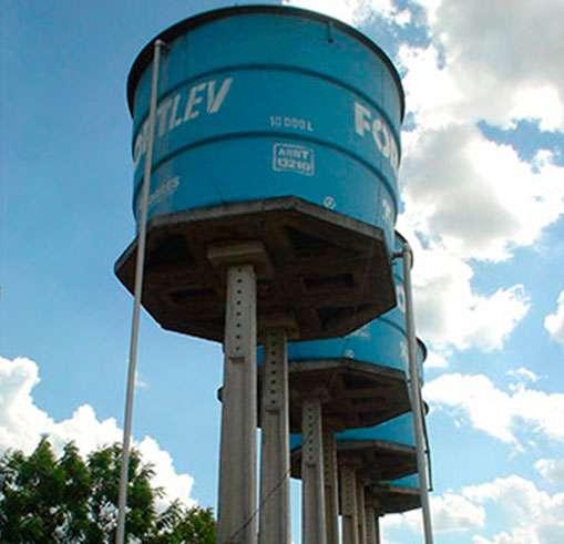 Bases de Concreto para Caixa D'água