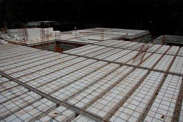 laje de concreto