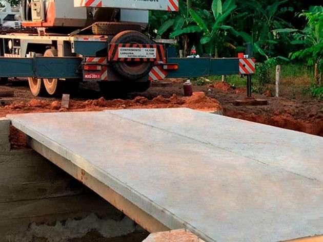 ponte rural de concreto