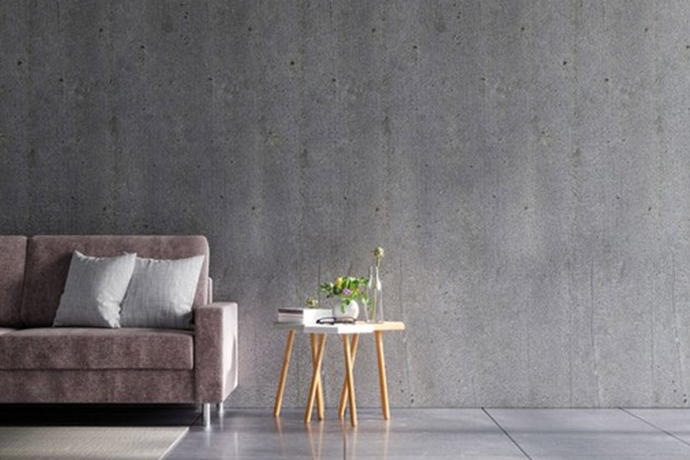 Pintura com textura de concreto - Concrenorte Pré - Moldados